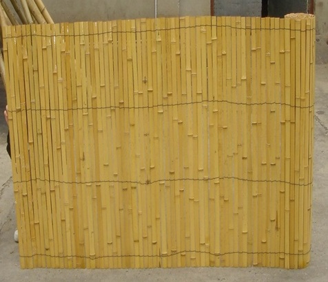 Wy-J389 Eco-friendly Natural Cheap Bamboo Fence designs pierced by wire