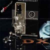 2014 Dexin best ago dry herb and wax vaporizer skull atomizer, portable dry herb vaporizer