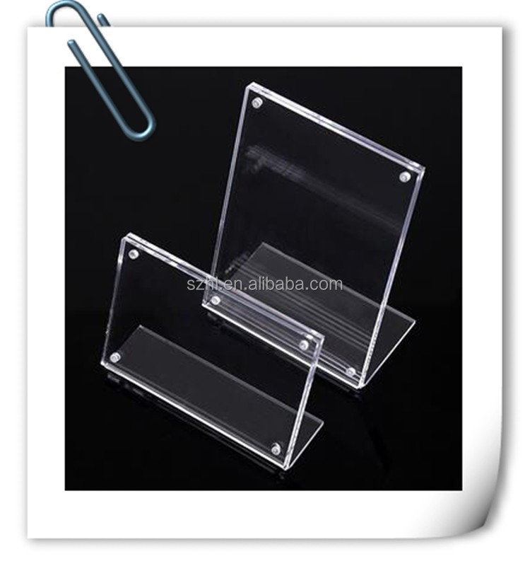 new products 2016 acrylic display stand with magnet