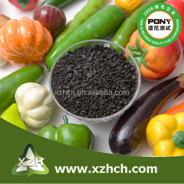 High quality humic acid granule use for perennials or lawns