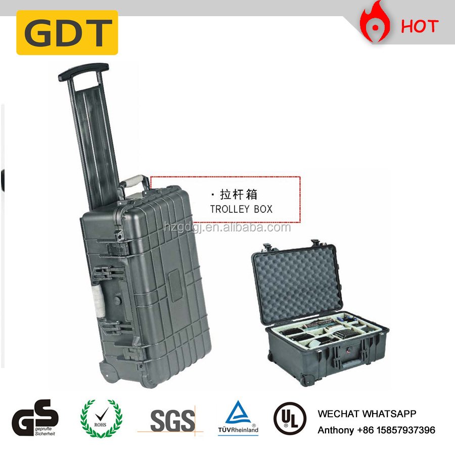 Heavy duty industrial machinery tool case for instrument protection