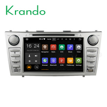 "Krando Android 7.1 8"" car pc dvd player for toyota camry 2007-2011 multimedia gps android navigation system 2G+16G KD-TC811"