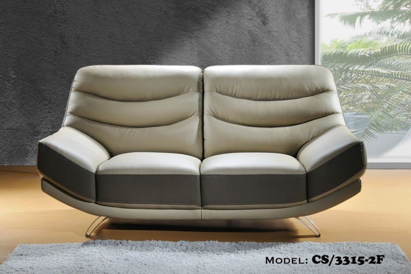 Casa Italy Leather Sofa F 3315