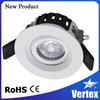 Recessed cob round led ceiling light 360 degree downlight