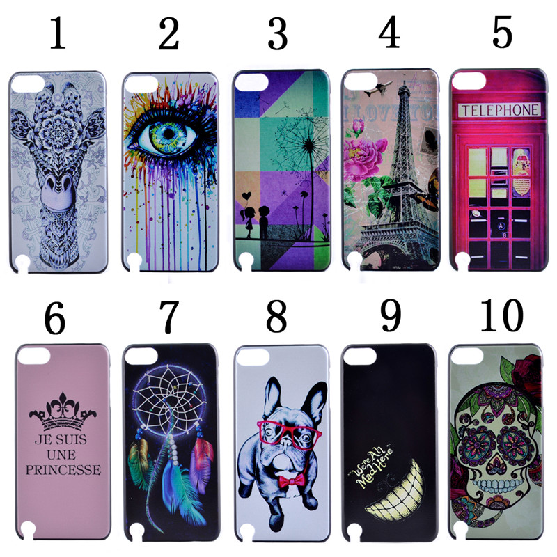 Wholesale Premium UV Colorful Printing Customized PC Phone Case Cover for Apple iPod Touch 5