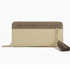 pu leather cheap ladies zip around clutch card holder wallets purses small bags