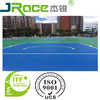 Eco friendly cheap basketball court paint rubber flooring