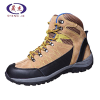 Factory Supply Steel Toe Leather Safety