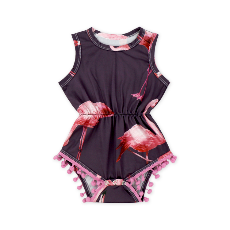 0657e7ff7b61 baby clothes color baby romper with lotus floral print romper