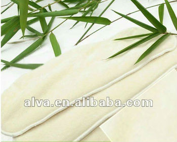3 Layer & 4 Layer Natural Antibacterial Bamboo Inserts For Cloth Nappies