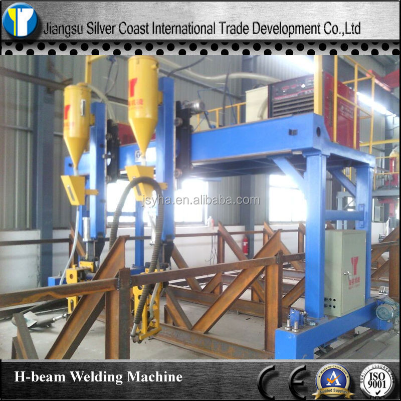 H Beam Welding Machine With SAW Welder