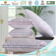 duck feather down gusset pillow