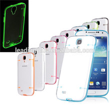 For Samsung Galaxy S5 luminous glow LED cover case, Glowing Electroluminescent case, Fluorescent Photoluminescent case