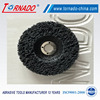 Tornado Nylon Fabric flap disc 115x14x22mm for metal polishing