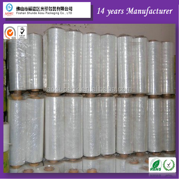 High Quality PE Cling Film, Food Grade LLDPE Wrap Film