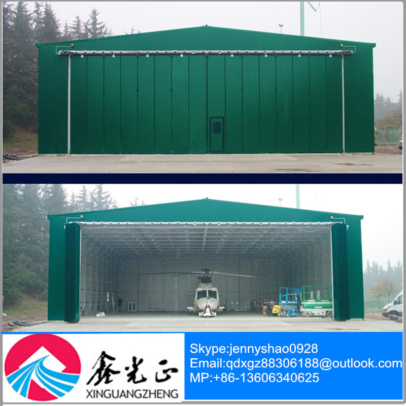 large span steel structure building prefabricated hangar maintain warehouse
