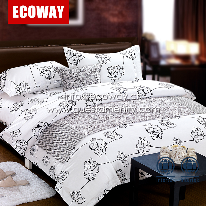 100% cotton Hotel Linen cheap Bed Sheets Bedding Sets
