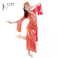 WQ00614 belly dance wear full set belly dance outfit