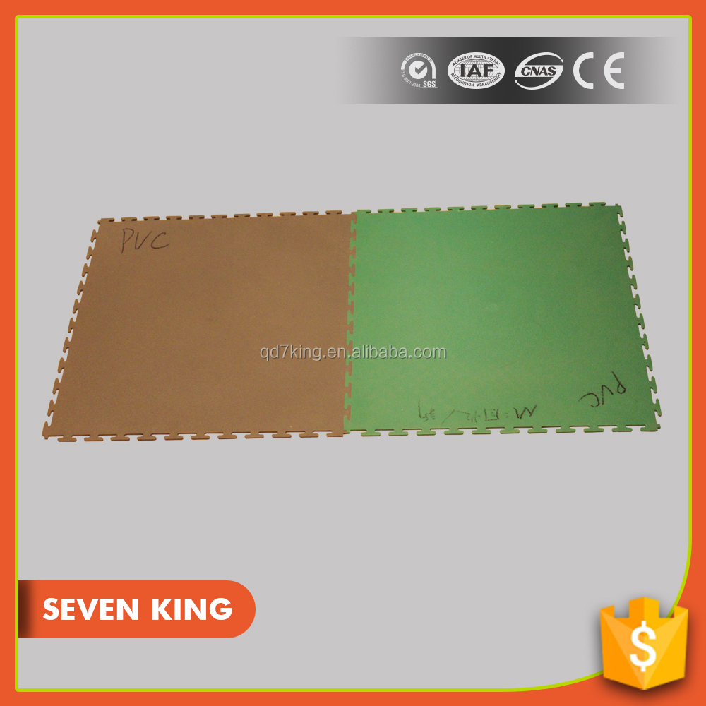 QINGDAO 7KING durable universal warehouse workshop PVC Flooring mat by china supply
