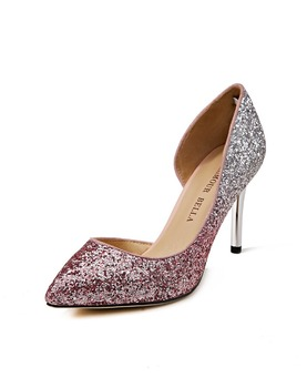 Lady Luxury Cuctom Heeled Graceful Dress Shoes