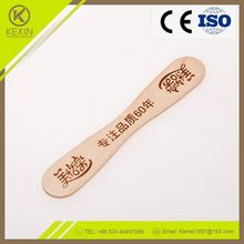 The newest design cheap food grade wooden ice cream spoon crafts