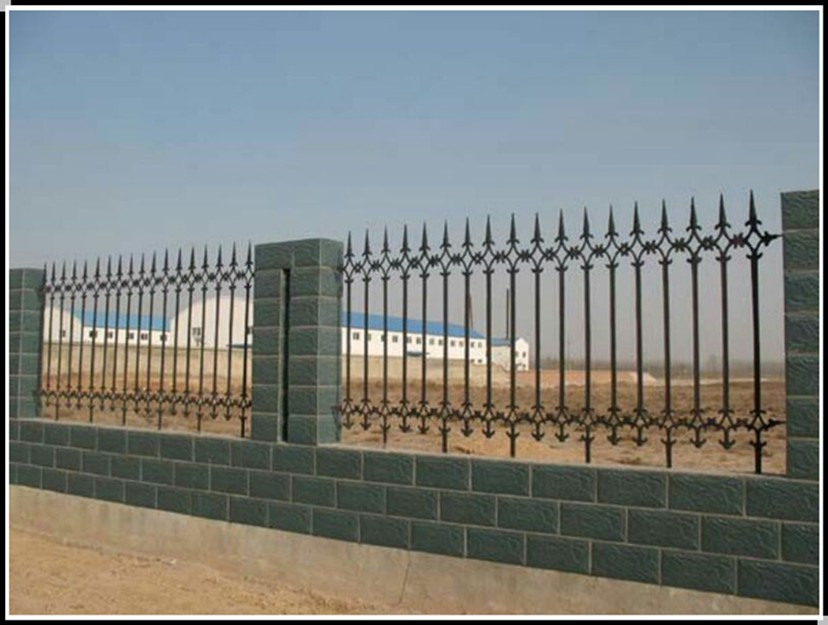 Factory direct sale 2015 new design cheap metal fence for home and garden