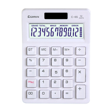 Promotional gifts personalized solar quality electronic calculator dual power, solar calculator 12 digit battery