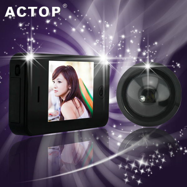 supper thin 3.5 inch iphone peephole camera viewer PHV-3503
