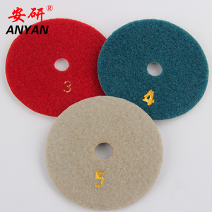 China supplier marble floor polishing pads