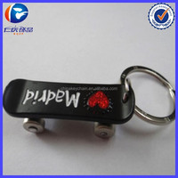2014 best sale skateboard keychain