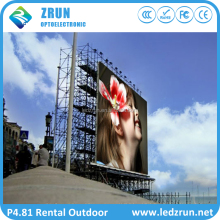 Shenzhen P3.91P4.81P5.95P6.25 rental hd video custom size stage advertising outdoor led screen for concert