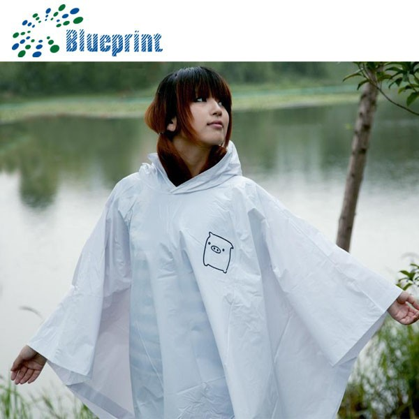 rain proof safety high quality poncho for electric bikes raincoat adult