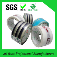 Color mark packing tape decorative adhsive packing tape made in china