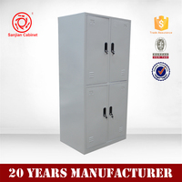 Industrial furniture 4 Door Locker Files Cabinets Office Cabinet Design