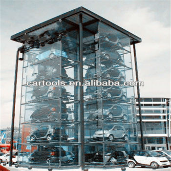 Milti-level tower parking lot equipment parking box RP7008(A)