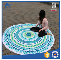 Hot Selling Round Beach Towels ,hippie tapestry india,Mandala Round Beach Towel