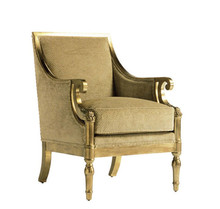 Trade assurance high quality hotel bedroom furniture French style retro occasional chairs upholstered occasional chair
