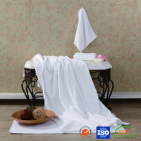 100 Cotton Washable Anti-Bacteria White Bath Towel