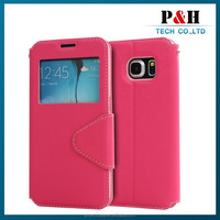 Hot Selling mobile phone Leather Flip case for Lenovo S820 with Holder