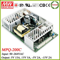 Meanwell MPQ 200C Open Frame Power