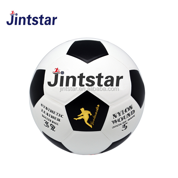 Cheap customized PU/PVC laminated football ball soccer balls sale in bulk for match and training