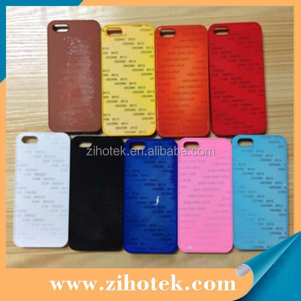 2D sublimation oil spray case for iphone 5/5s,blank sublimation oil feeling case for iphone 5/5s