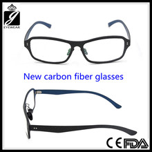 Latest fashion Retro style carbon fiber eyeglass for unisex
