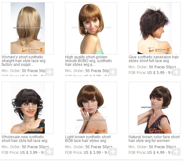 Blonde short curly hair wigs for european white women