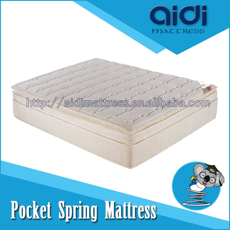 High Quality Rebond Foam/ bra scrap/ Foam Pocket Spring Coil Sleeping Mattress AC-1209