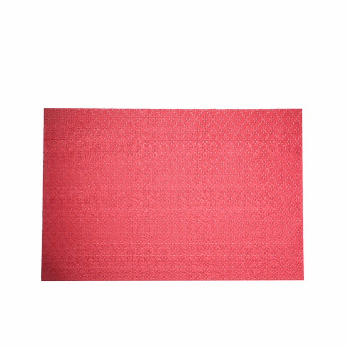 Factory Sale OEM Innovation Bright Color And Colorfast Without Any Smell Heat Resistant Christmas Paper Placemats