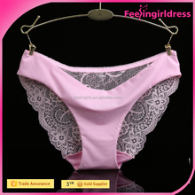 Free Sample Accepted Simple Lace Women Underwear Panty In Stock
