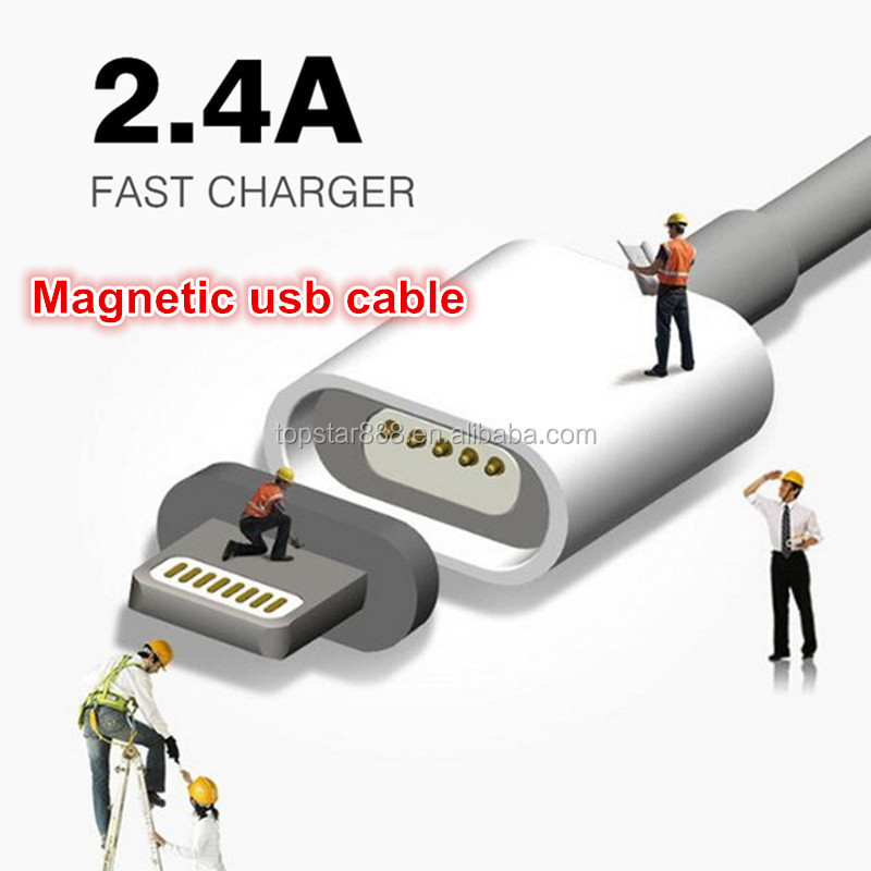 Fast Charging Magnetic Micro Usb Cable Magnetic Charging Cable Magnetic USB Cable For Iphone
