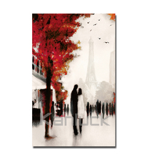 Custom Streetscape Printed Canvas Art for Wall Decor
