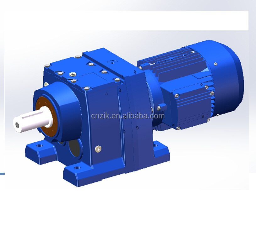 RC167 helical geared motor